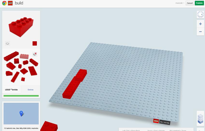 Si te gustaban los juegos de Lego: Buildwhitchrome