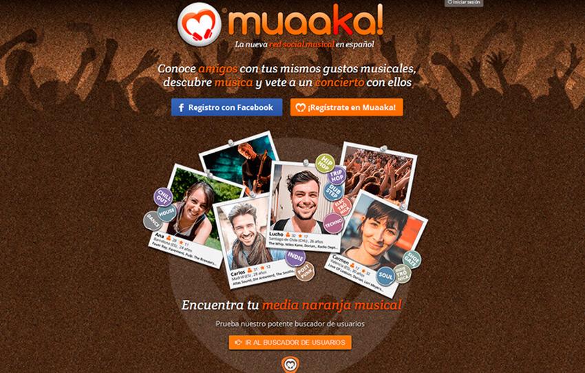 MUAAKA: NUEVA RED SOCIAL DE MUSICA