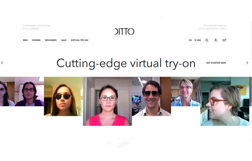 DITTO.COM: PROBADOR VIRTUAL ONLINE