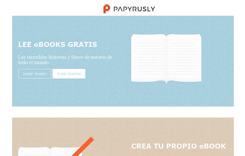 PAPYRUSLY:  eBooks gratuitos