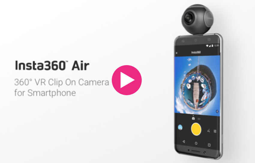 Insta360 Air: Convierte tu móvil en una cámara 360º